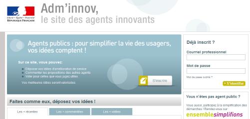 Innovation participative chez les agents de la fonction publique